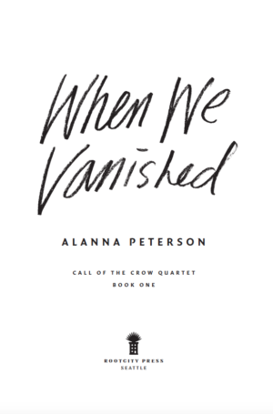 Title page of When We Vanished