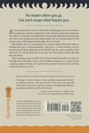 Back cover of Where Shadows Grow