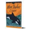 3D Cover of Where Shadows Grow by Alanna Peterson. An orca whale dives into a turquoise sea beneath an orange sunset.